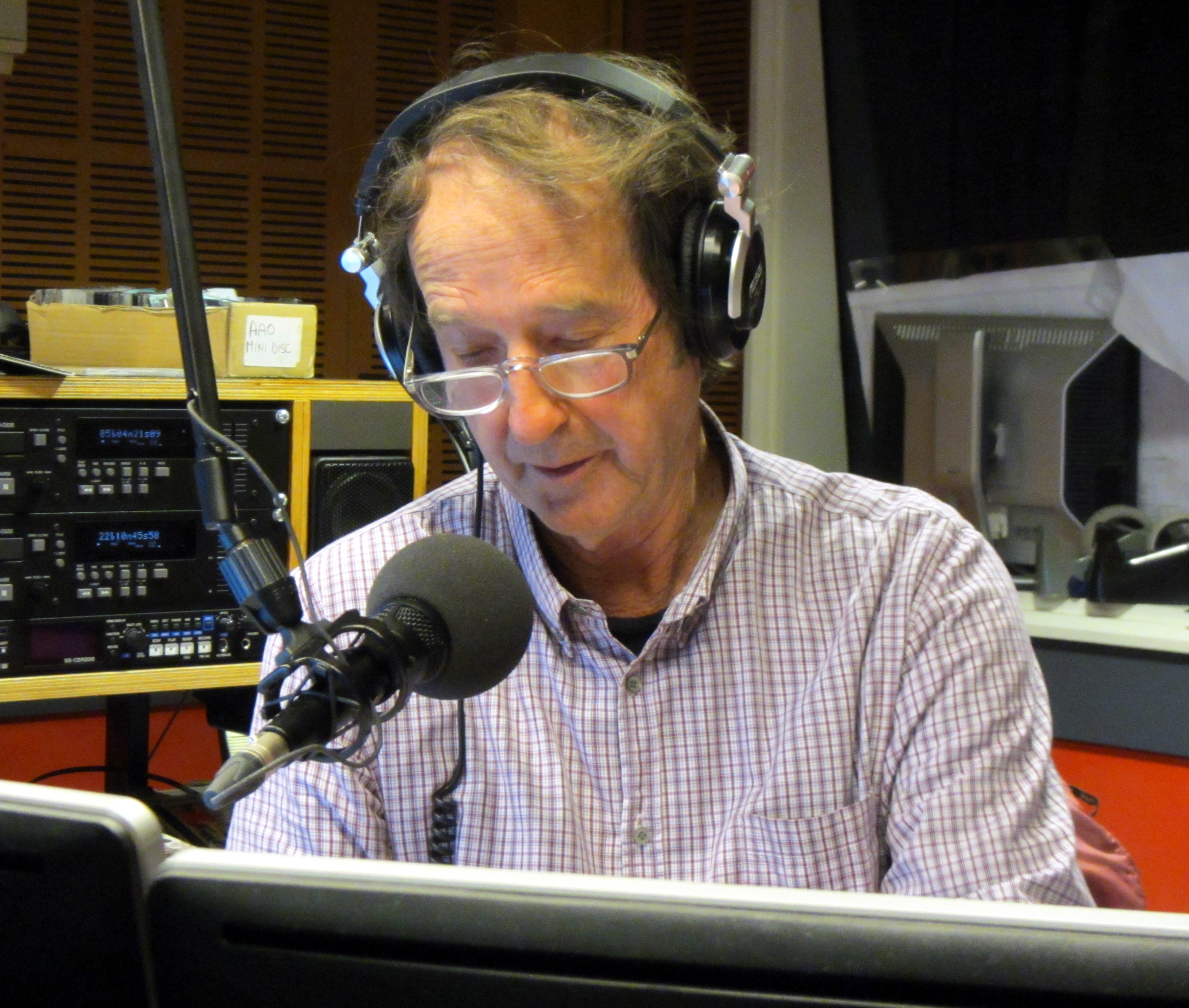 Ian McNamara, a great friend and Australian radio legend