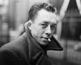 Albert Camus, a French Nobel Prize–winning author, journalist, and philosopher, who may may met Sisyphus and Omar Kayham in the Arabian desert. But then again he may not have.