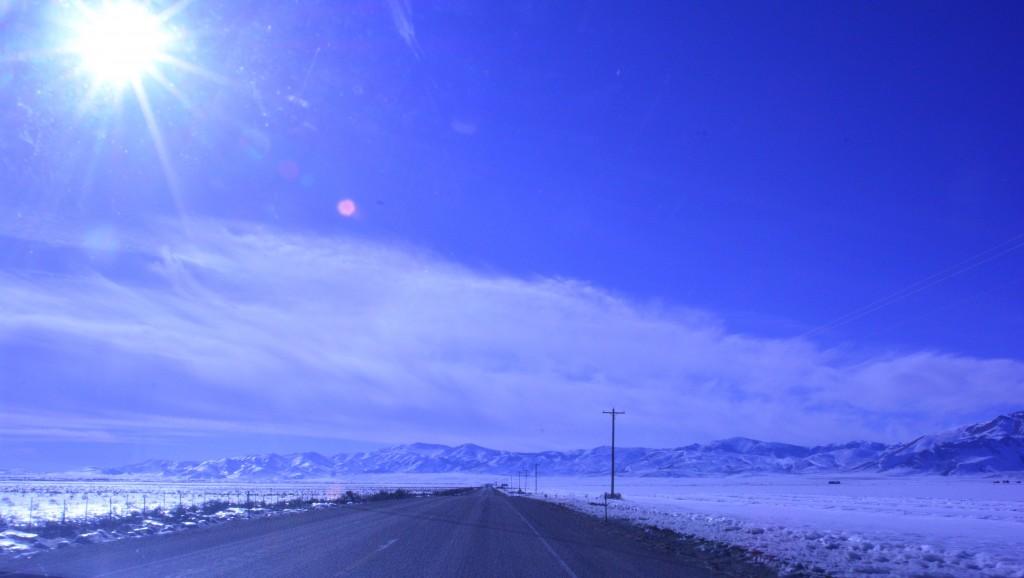 Scenery west of Idaho Falls on highway 20, Idaho